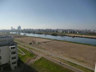 大田区鵜の木 リノベーションマンション 多摩リバーサイドハウス 河川敷も見えます♪