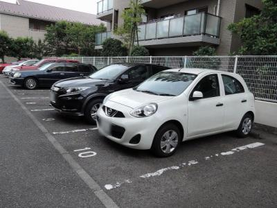 【駐車場】ダイアパレス・グランデージ日吉