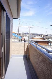 【バルコニー】鶴ヶ島市下新田 戸建分譲 「一本松駅」徒歩3分 敷地30坪