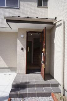 【玄関】鶴ヶ島市下新田 戸建分譲 「一本松駅」徒歩3分 敷地30坪