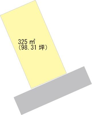 【区画図】【売地】橋本中学校区・29714
