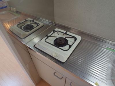 【キッチン】アパートメント林