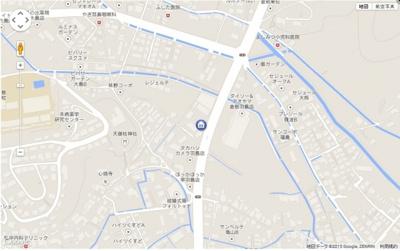 【地図】エポックハシマⅡ
