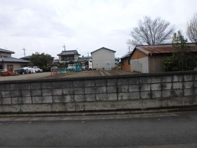 【前面道路含む現地写真】高崎市阿久津町売地