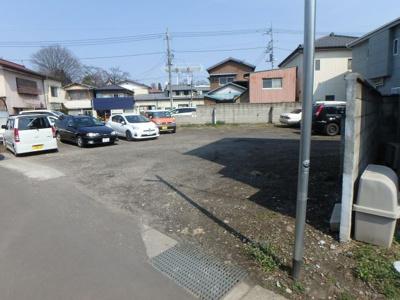 【前面道路含む現地写真】高崎市常盤町売地
