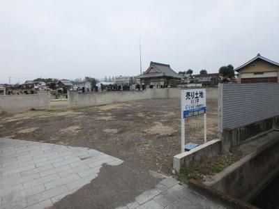 【前面道路含む現地写真】中尾町売地