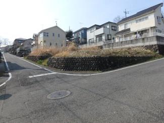 【前面道路含む現地写真】高崎市寺尾町売地