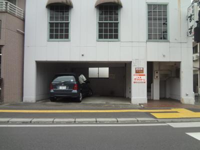 【外観】天神交番前駐車場