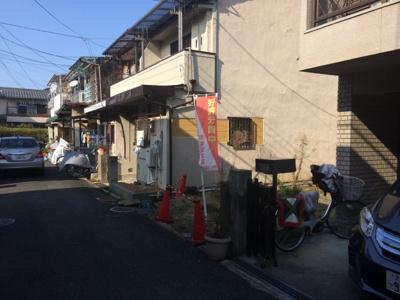 【前面道路含む現地写真】鮎川1丁目売土地