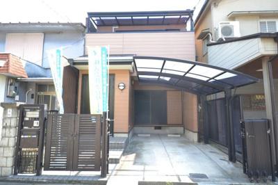 【外観】堺市堺区南田出井町 リフォーム済み一戸建