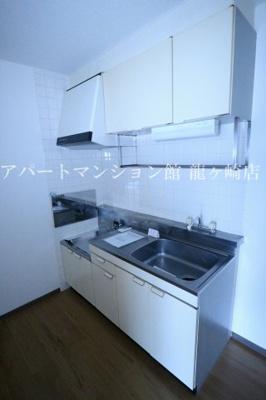 【キッチン】パークハイツ平台B