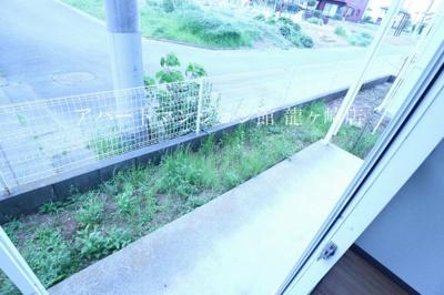 【バルコニー】パークハイツ平台B