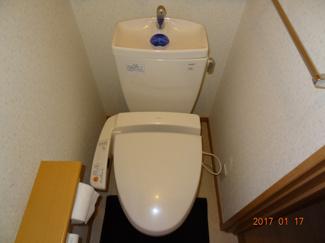 【トイレ】さいたま市緑区宮本2丁目 高台南道路に面するカースペース2台の中古住宅