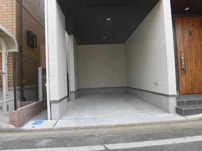 【駐車場】蕨市南町2丁目 新築分譲住宅全1棟