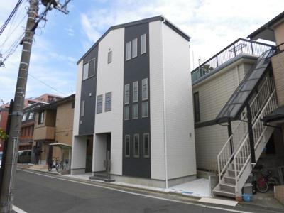 【前面道路含む現地写真】蕨市南町2丁目 新築分譲住宅全1棟