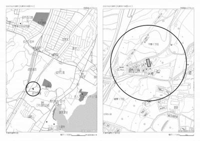 【地図】大津市雄琴2丁目18-22 売土地