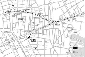 世田谷区新町1丁目 リノベーションマンション クレール桜新町 地図