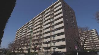 世田谷区上用賀2丁目 リノベーションマンション 馬事公苑前ハイム1号棟  外観