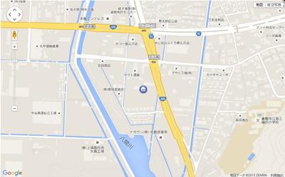 【地図】グレースフィオーレ