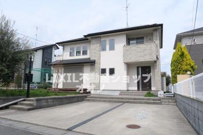 【外観】加須市水深築浅中古住宅