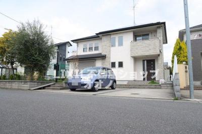 【前面道路含む現地写真】加須市水深築浅中古住宅