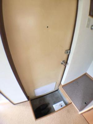 玄関はダブルロック