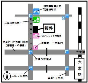 【地図】神田ビル(三橋5)