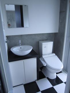 ゆったりとした空間のトイレです Cタイプモデルルームの様子です♪