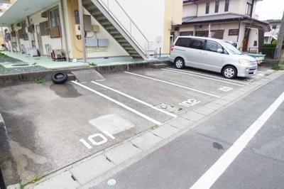 【駐車場】コーポナガシマ