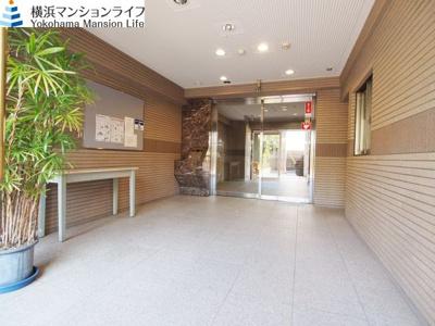 【エントランス】ピュアシティ横浜6