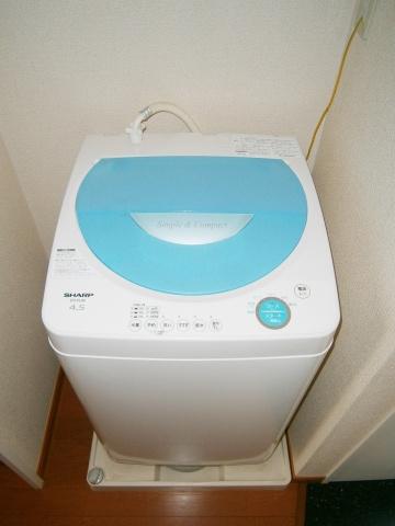同タイプ室内・全自動洗濯機付き