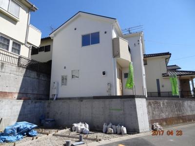 【外観】さいたま市見沼区東大宮3丁目 地中海風新築分譲住宅全1棟