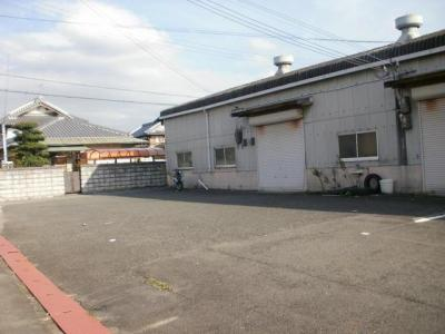 【外観】池田下町 倉庫