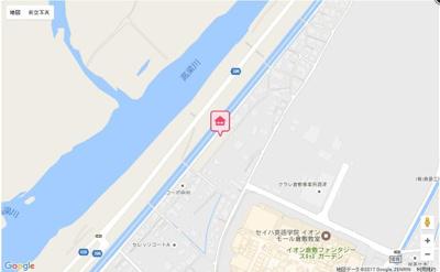 【地図】ミルキーウェイ酒津