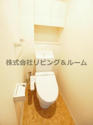【トイレ】ラ・ドルチェヴィータ・ A棟