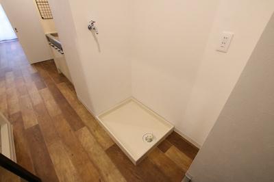 グランシャリオ根岸 洗濯機置き場は室内にございます!