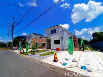 【外観】さいたま市西区三条町 敷地広々48坪新築分譲住宅