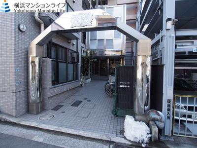 【エントランス】ライオンズマンション横浜リバーサイド