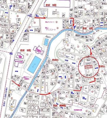 【地図】高台から岡山城を眺めませんか