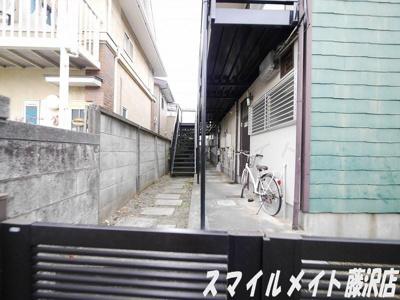【エントランス】フラットオモテ