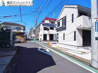 【前面道路含む現地写真】横浜市西区浅間台全6棟 新築戸建て