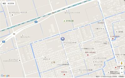 【地図】リビュール・エスポアB