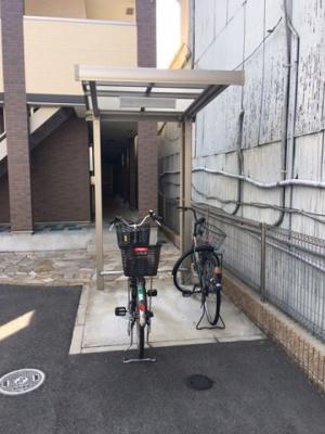 駐輪場 モンサント田中町
