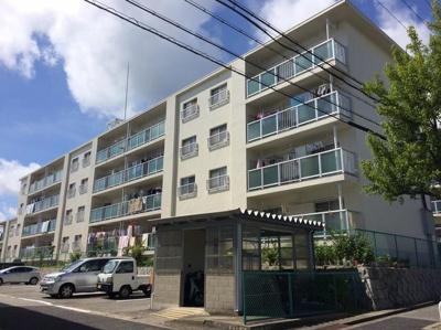 【外観】白川台ハイツ1号棟