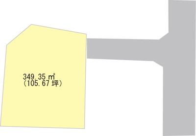 【区画図】【売地】隅田中学校区・27098