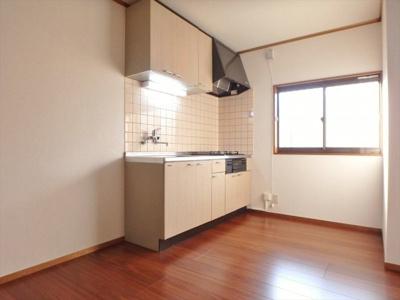 【キッチン】ドエル多摩川