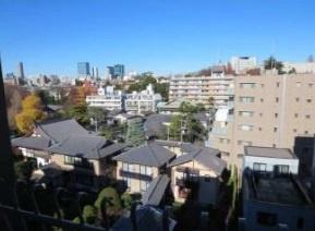 渋谷区広尾5丁目 リノベーションマンション 広尾フラワーホーム 眺望