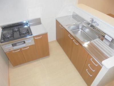 【キッチン】ウィステリア東田辺