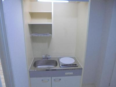 【キッチン】JPアパートメント東住吉II