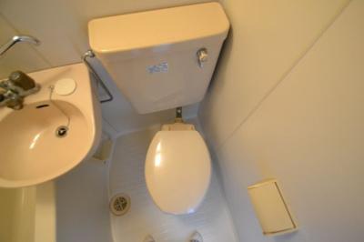 【トイレ】サンパレス21六甲2